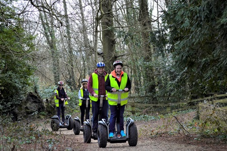 Dorset Segway Adventure Tour and Cream Tea for Two