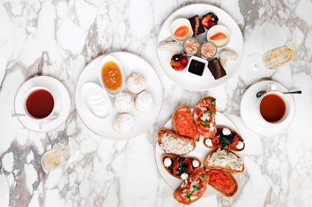 Italian and Spanish Inspired Afternoon Tea for Two at The 5* May Fair Hotel