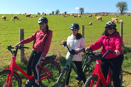 Electric Bike Self Guided Tour for Two in the Heart of the North Cotswolds