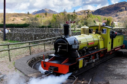 Eskdale Belle Carriage & Steam Train Experience with Sparkling Lunch for Four
