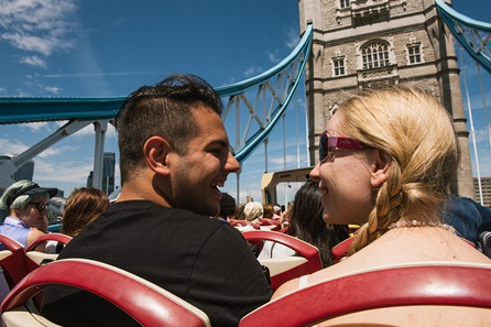 Explore London with Hop On Hop Off Sightseeing Bus Tour, River Cruise and Visit to Ripley's Believe it or Not! for Two