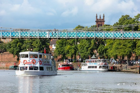 Family Chester City River Sightseeing Cruise