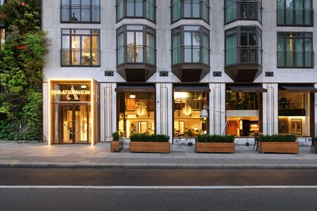 Five Course Tasting Menu for Two at Galvin at the 5* Athenaeum, Piccadilly