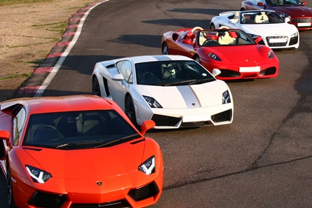 Five Supercar Blast