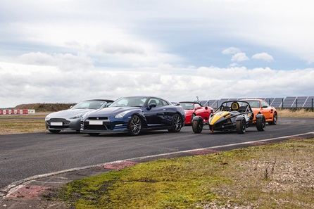 Five Supercar Blast at Top UK Race Tracks