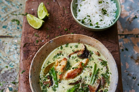 Fragrant Thai Green Curry Class at Jamie Oliver's Cookery Class
