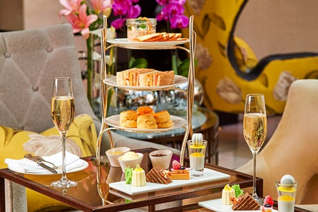 Free Flowing Champagne Afternoon Tea for Two at the 5* Conrad London St.James