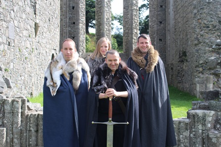 Game of Thrones Locations Tour with Castle Ward and Direwolves for Two