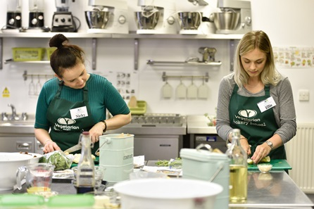 Half Day Cookery Class at The Vegetarian Society Cookery School