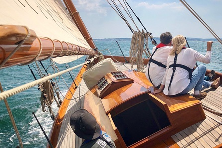 Half Day Sailing Experience Aboard a Victorian Sailing Yacht