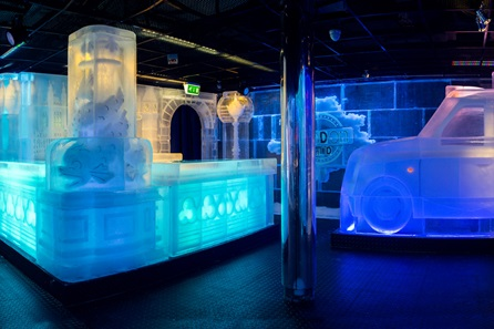 Ice Bar Experience With Cocktails And Two Course Meal Champagne For