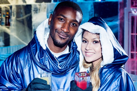 Icebar London Experience with Cocktails and Three Course Meal for Two