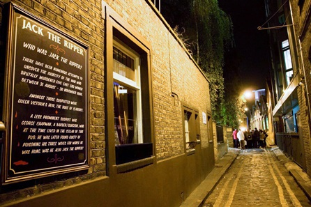 Jack the Ripper Walking Tour with Fish & Chip Supper for Two
