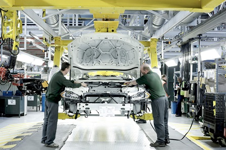 Jaguar Factory Tour, Castle Bromwich
