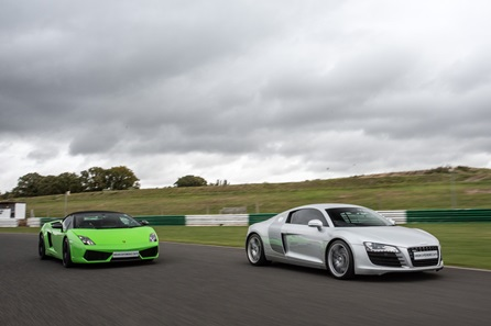 Junior Double Supercar Driving Blast