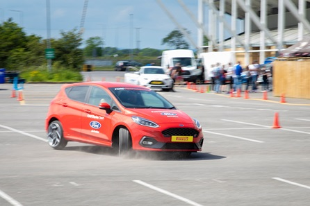 Junior Thrilling Stunt Ride with a Paul Swift Driver