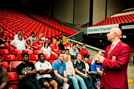 Liverpool FC Stadium Tour & The Steven Gerrard Collection for One Adult and One Child
