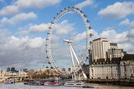 London Eye and Two Course Lunch at Gaucho for Two
