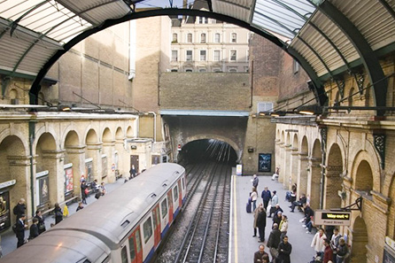 London Underground Tube Tour and Two Course Pub Meal for Two