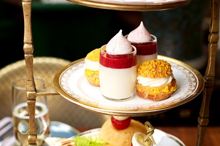 Moroccan Champagne Afternoon Tea for Two at Momo Restaurant, Mayfair