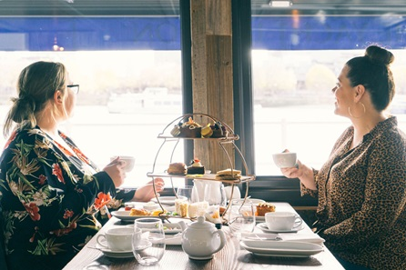 Riverside Afternoon Tea for Two on The Yacht, London