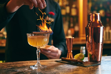 Royal Cocktails with Sharing Dishes for Two at the 4* Rubens at the Palace Hotel, London