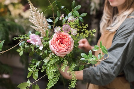 Seasonal Floristry Masterclass at Petersham Nurseries, Covent Garden