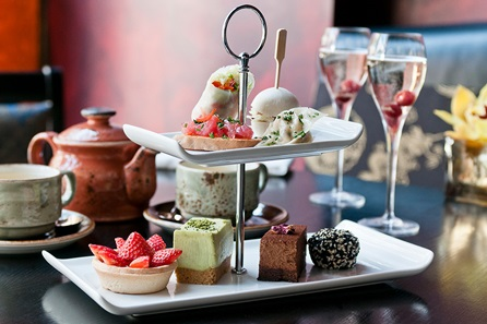 Sparkling Afternoon Tea for Two at Buddha-Bar London