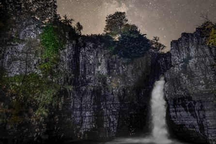 Stargazing for Two at High Force Waterfall
