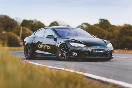 Tesla Model S On Track Driving Experience