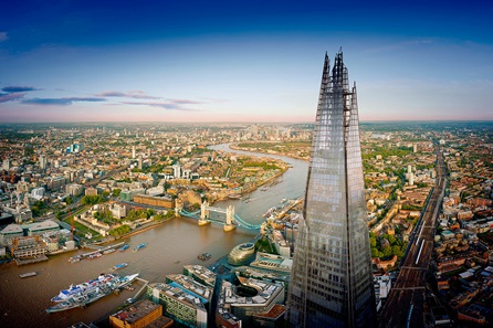 The View from The Shard with a Three Course Meal for Two