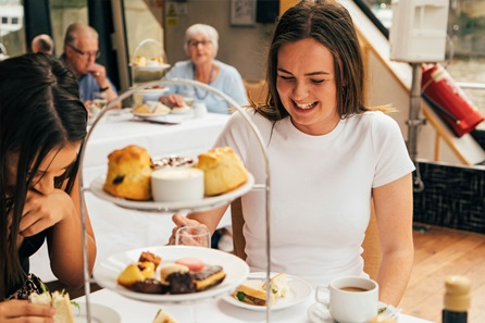 The View from The Shard and Thames Afternoon Tea Cruise for Two