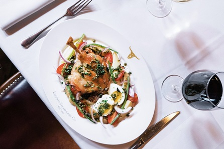 Three Course Champagne Celebration Dining at Marco Pierre White's London Steakhouse Co