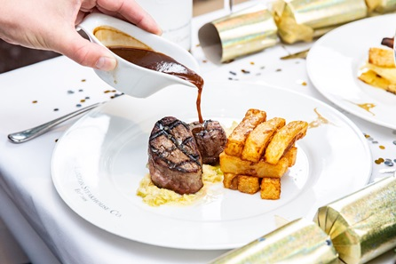 Three Course Christmas Dining Experience and Cocktail for Two at Marco Pierre White's London Steakhouse Co, Chelsea