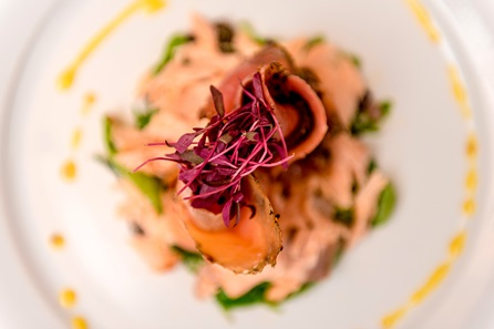 Three Course Dinner and Wine for Two at the Grove, Norfolk