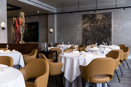 Three Course Lunch with Champagne for Two at Michelin-Starred The Square
