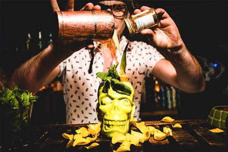 Tiki Cocktail Masterclass and Sliders for Two at Mahiki, Mayfair