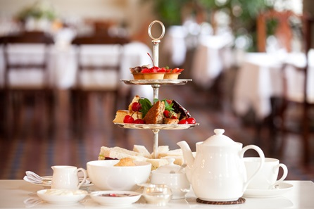 Traditional Afternoon Tea and Spa Treatment in Berkshire for Two