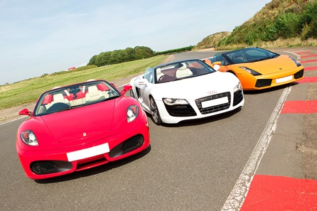 Triple Supercar Blast