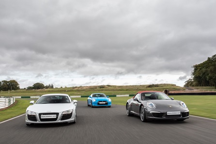 Triple Supercar Blast plus High Speed Passenger Ride and Photo