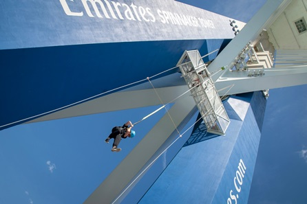 Visit to Emirates Spinnaker Tower with The Drop for Two