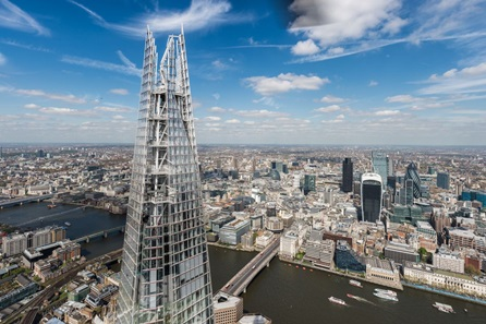 Visit to The View From the Shard for a Family of Four with Souvenir Photos