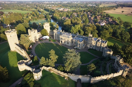 Winter Visit to Warwick Castle - Two Adults and One Child