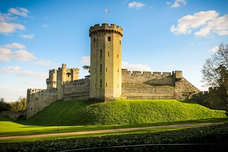 Winter Visit to Warwick Castle - Two Adults and Two Children