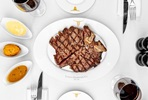 24oz Porterhouse Steak to Share with Unlimited Fries and a Cocktail at Marco Pierre White's London Steakhouse Co