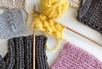 At Home Knitting Masterclass Kit with Online Tutorial Videos