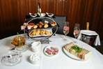 Champagne Afternoon Tea for Two at Ambassadors Bloomsbury Hotel