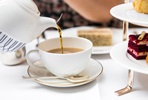 Champagne Afternoon Tea for Two at The Fortnum & Mason Bar and Restaurant at Royal Exchange