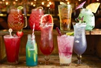 Cocktail Masterclass and Three-Course Meal for Two at Revolution Bars