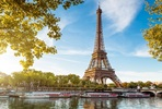 Luxury Paris Day Trip with Seine Cruise and Champagne Lunch at the Eiffel Tower for Two